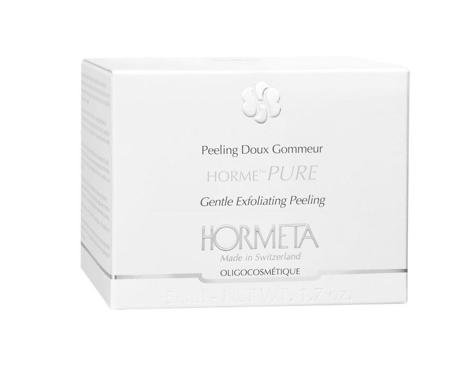 HORMETA-pure_50ml_peeling-doux_boîte